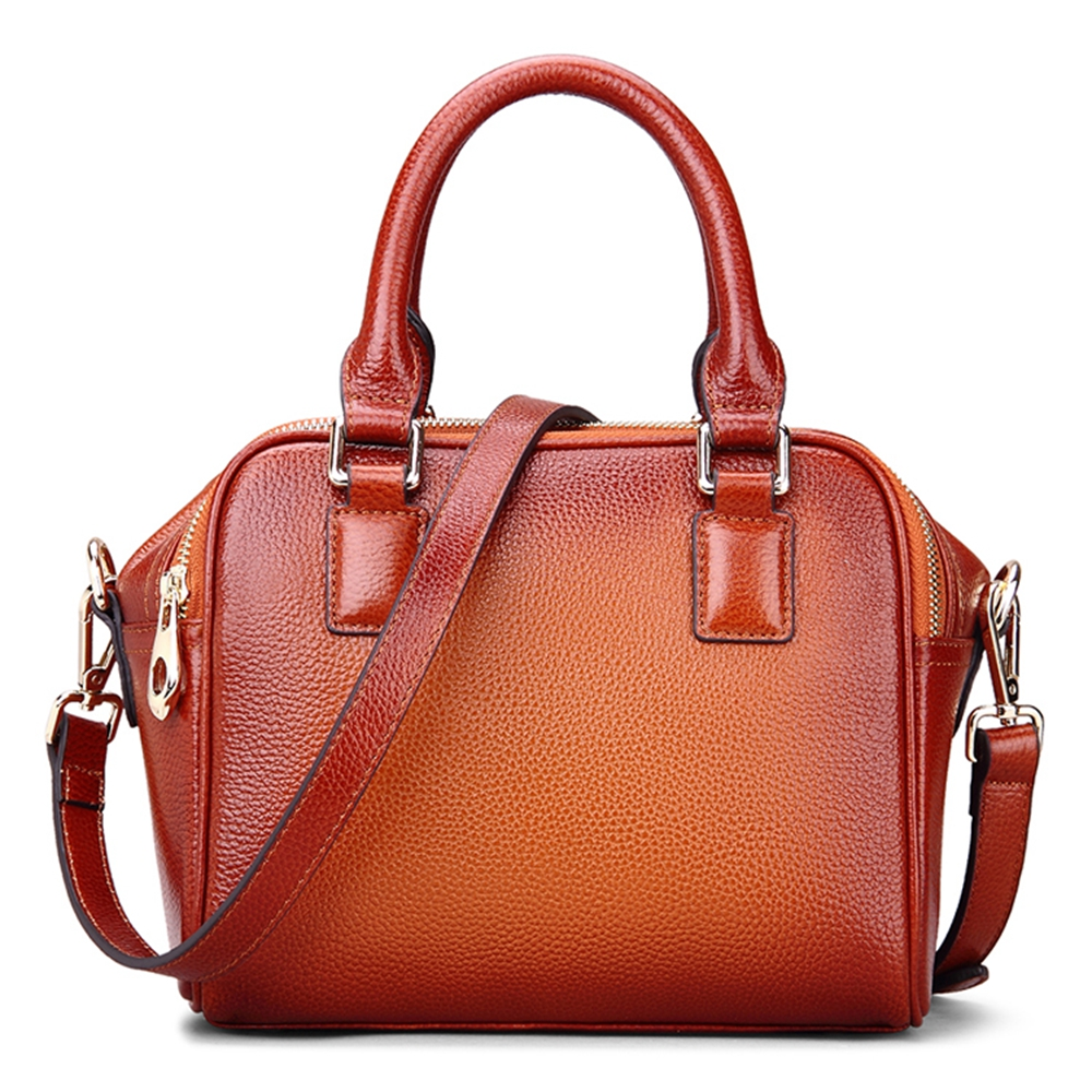 ROCKCOW 2017 New Top Grain Leather Tote Bag For Women Leather Luxury Handbags Women Messenger Bags rockcow 2017 new top grain leather tote bag for women leather luxury handbags women messenger bags