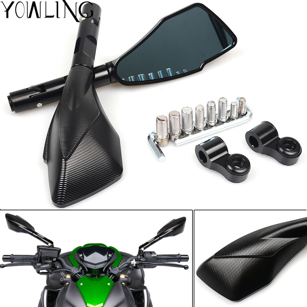 7/8 22mm Universal Motorcycle Rear View Side Mirror Handle Bar For yamaha YZF-R6 YZF R6 YZF-R1 YZF R1 r6 r1 YZF-R3 YZF R3 MT-07