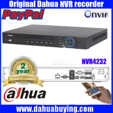 Dahua 32CH 5MP Dual-core NVR4232 2xSATA HDD Ports ONVIF P2P Motion Detection HDMI VGA CCTV Video Recorder free shipping