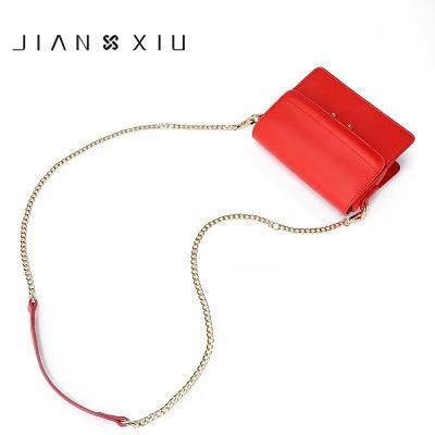 0011 JIANXIU Hong Kong brand leather handbags fashion shoulder Messenger bag Korean version of the wholesale chain bag small bag тдм sq1809 0011