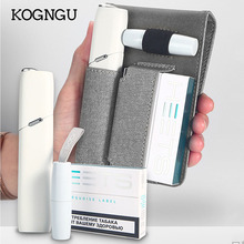 Kogngu Fashion for IQOS multi 3.0 Holder Wallet leather Bag Protective Cover Case Carry Leather