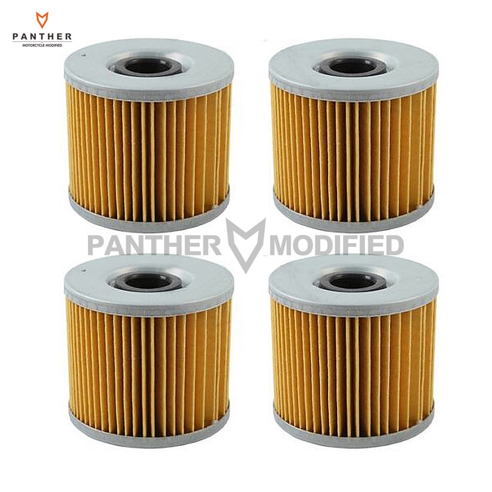 4 pcs motorcycle engine oil filter case for suzuki gs300l gs450g gs450e gs500e gs500f gs500 gr650