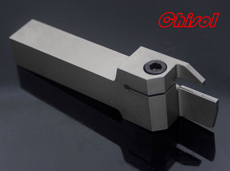 high quality CNC lathe parting grooving tool holder cut off tool MGEHL1616-3 / MGEHR1616-3 for slotting inserts MGMN300-M 2mm wide blade cutter rod 12mm outer diameter cutting arbor external grooving lathe tool holder width grooving parting cutting