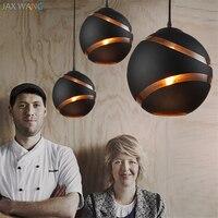 Cafés de design nórdico Vintage Restaurante Luzes Pingente para Sala de Jantar Decoração luminárias Loja de Roupas Luzes da cozinha Italiana|Luzes de pendentes| |  -