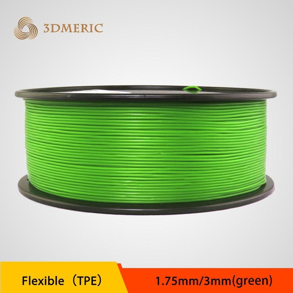 quick express 3D printer filament flexible TPE filament for 3D printer free dhl shipping large print area 210 210 280mm 3d printer aluminium structure filament 8gb sd card as gift tronxy 3d printer