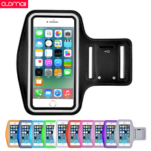Universal sports arm band  for iphone 8plus 7PLUS 6plus for phone 8 7 6s Unisex running arm bag sport Outdoor Sport Workout Arm стоимость
