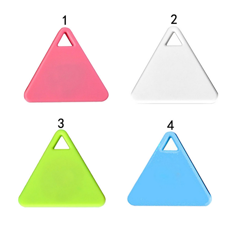 Triangle Smart Tag Wireless Bluetooth 4 0 Tracker Kid Child Bag Wallet Key Pet GPS Locator Alarm Anti lost Keychain Finder hot in Smart Activity Trackers from Consumer Electronics