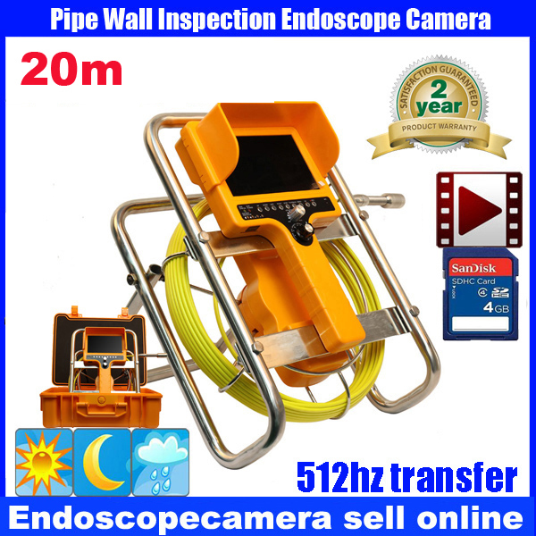security endoscope pipe inspection camera waterproof 12pcs led lights dvr video recording with keyboard function 20M eyoyo 7 lcd screen 20m 800 480 1000tvl 4500mah sewer drain camera pipe wall inspection endoscope w keyboard dvr recording 8gb
