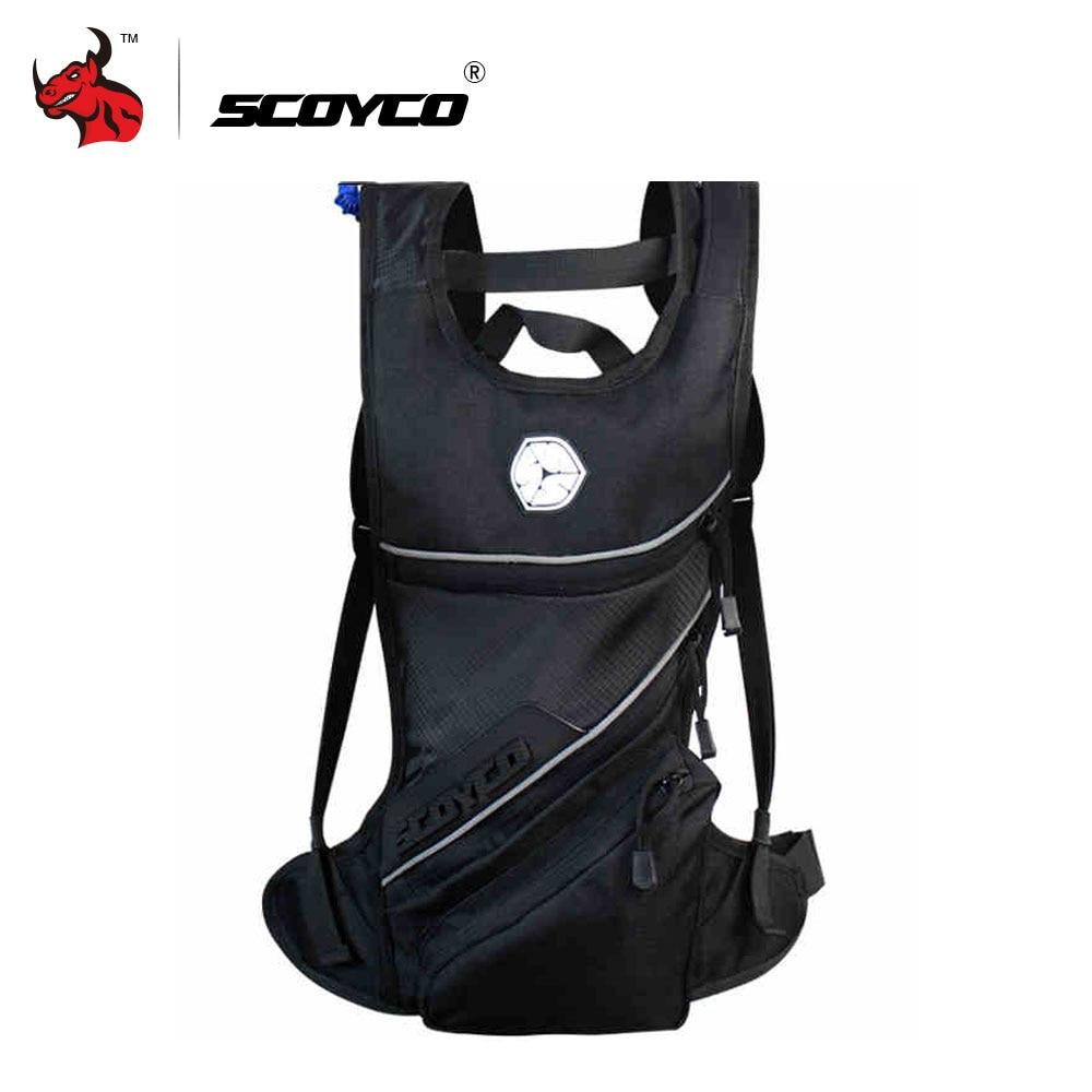 SCOYCO Motorcycle Hydration Pack Water Bag Motocross Riding 2L Drinking Water Backpack Shoulder Package Motorcycle Backpacks
