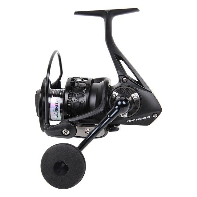Trulinoya Super qualité TSP5000 Full Metal 12BB 320 g 5.2 : 1 Spinning Reel Fishing roue de pêche