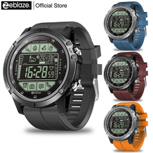 цена на Zeblaze VIBE 3S Rugged Outdoor Smartwatch Real-time Weather Steps Calorie Distance Tracking 5 ATM/50M/164ft Water Resistant