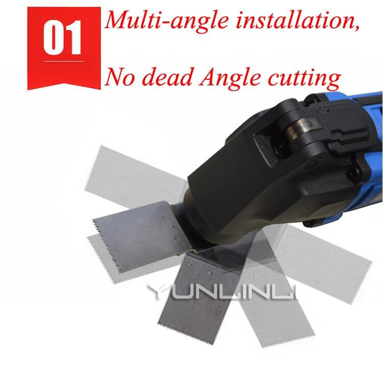 Multi function Trimming Machine Woodworking Tools Electric Blade Wood Slotting Machine Cutting Machine A450W16 B - 5