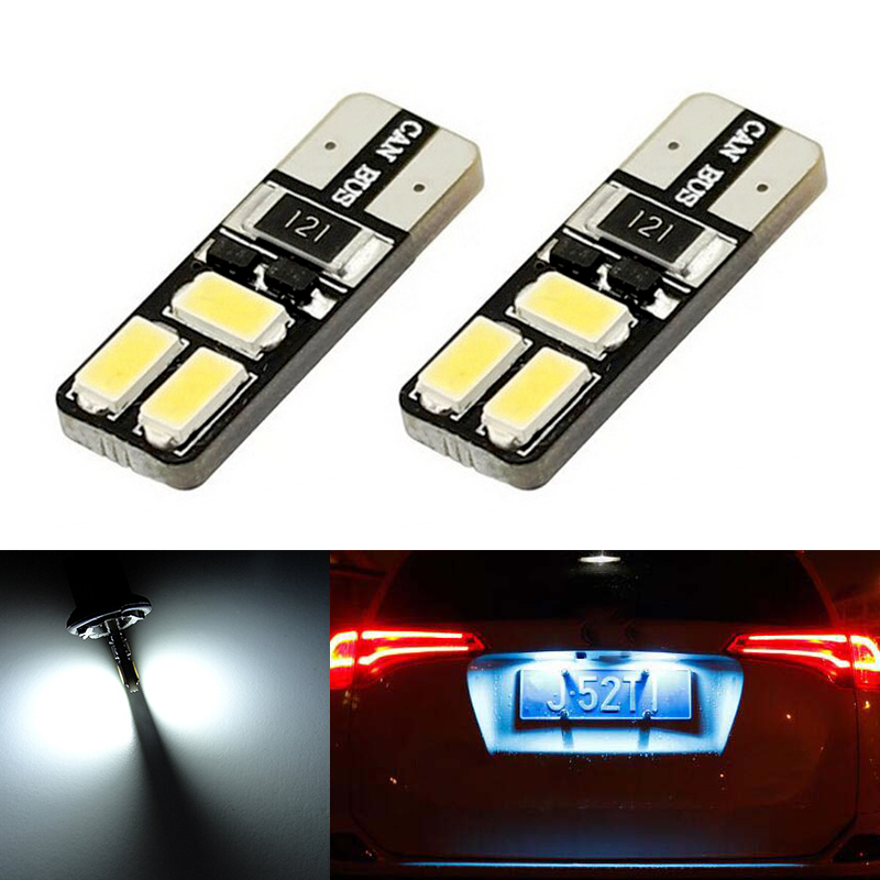 Fits Vauxhall Corsa MK3 1.7 CDTI White 54-SMD LED 12v Number Plater Light Bulbs