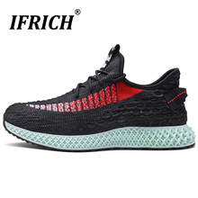New Cool Summer Jogging Shoes For Men knitting Shoes For Man Sport Brand Mens Trail Running Shoes Popular Athletic Footwear Men 2016 famous brand mens running shoes for men sport outdoor trail running jogging shoes sneakers man chaussure sport