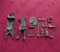 (General quality version) 1/16 Scale The Greek warrior 90mm Historical WWII Figure Resin Kit