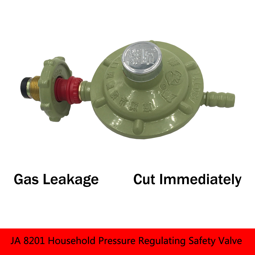 JA 8201 Household Pressure Regulating Safety Valve Brass Relief Valve Close Valve Hydraulic Valve gas brass 9 25 dia thread yelow rubber head safety pressure relief valve zmm