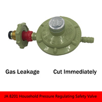 JA 8201 Household Pressure Regulating Safety Valve Brass Relief Valve Close Valve Hydraulic Valve gas brass