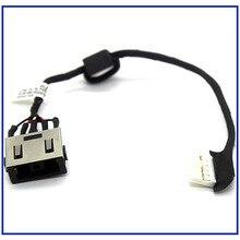 Новый кабель питания постоянного тока для ноутбука, зарядное устройство постоянного тока, соединительный порт, провод, шнур для Lenovo G70, G70-70, ...