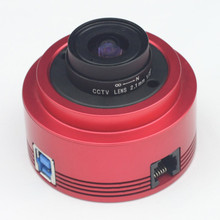 Zwo ASI290MMモノクロ天文学カメラasi遊星ソーラー月面画像/案内高速USB3.0