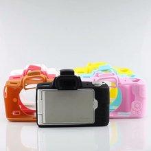 Силиконовая кожа брони чехол корпус протектор для Canon EOS M50 цифровая камера Внутренняя мягкая сумка чехол