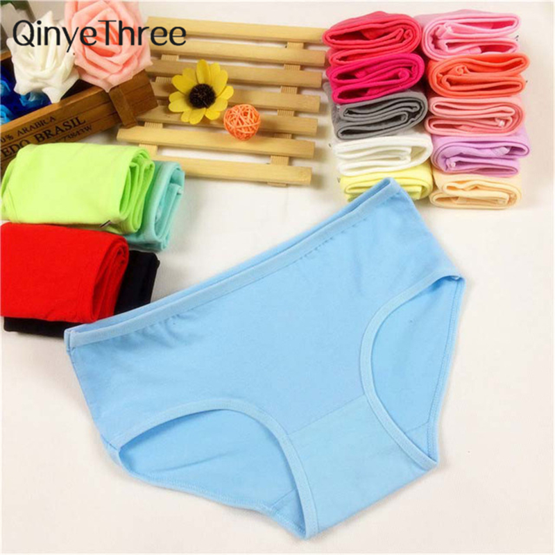 Fashion Sexy Women's Cotton Underwears Women's Briefs Ladies   Panties   Breathable Underpants Girls Knickers for Female