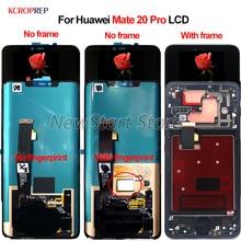 """Huawei 社メイト 20 プロ Mate20 プロメイト 20Pro lcd ディスプレイタッチスクリーンデジタイザアセンブリ 6.39 """"交換アクセサリー"""