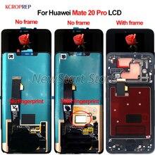 """מקורי עבור Huawei Mate 20 פרו Mate20 פרו Mate 20Pro LCD תצוגת מסך מגע Digitizer הרכבה 6.39 """"החלפת אבזר"""