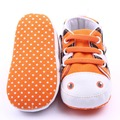Baby Infant Cute  Anti-slip Toddler Crib Soft Walk Shoes Canvas Shoes New
