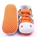 Bebê Infantil Bonito Anti-slip Criança Berço Sapatos Macios Pé Sapatos de Lona Nova