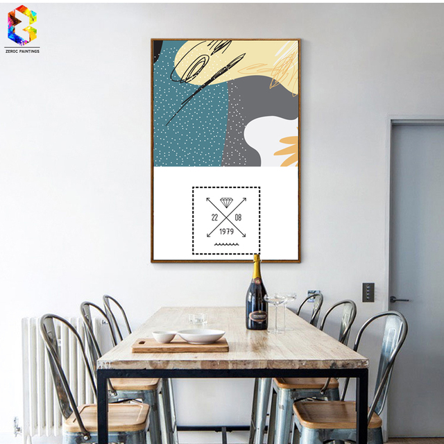 Zeroc Nordic Home Accessories Canvas Art Print Poster Wall