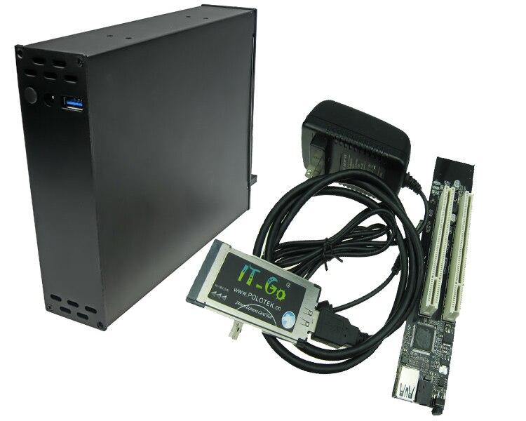 Ordinateur portable Expresscard 34 mm 54 mm à 2 PCI 32bit slots adaptateur Express Card carte fille pour carte son PCI carte parallèle série
