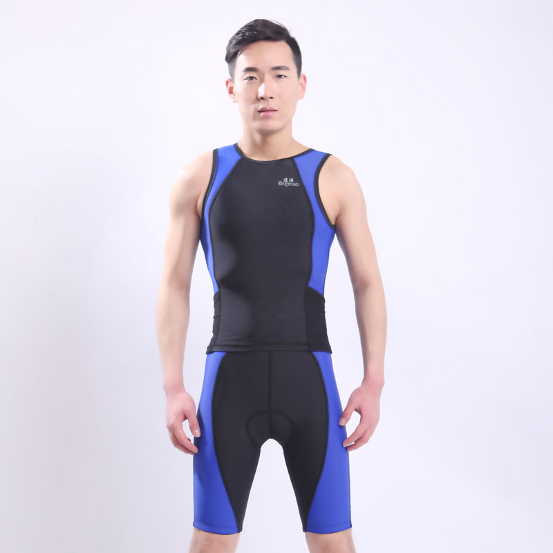 Unisex Anti-UV Protection One-piece Swimwear Snorkeling Suit Swiming Suit Tight - Fitting Water Sport Wetsuits 2pcs Diving Suit tight one piece swimwear