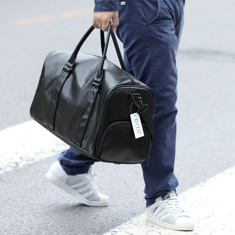 Fashion Extra Large Weekend Travel Bag Pu Leather Business Men Travel Big Shoulder Bag Partition Shoes Bags Reista Duffle Bag big volume weekend bag for man in pu material men s business leather travel bag men duffel bag high quality men shoulder bags