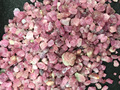 Wholesale Natural Gravel Full Red Tourmaline Gravel Raw Material Tourmaline Degaussing Stone Healing Beads Fish Tank