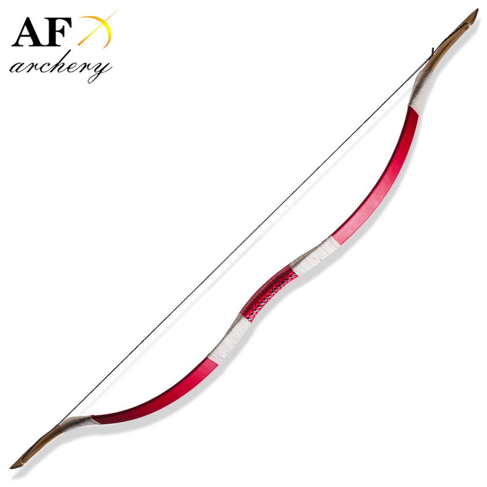 Free Shipping 20-100LBS Archery Handmade Fiberglass Bow Red Cow Leather Hanbow Traditional Recurve Bow Hunting and Shooting red riser detachable combination recurve bow folding portable for hunting shooting training traditional archery sdl tzxl red
