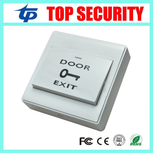 Free Shipping Plastic Exit Button Exit Switch For Door Access Control System Door Push Exit Door Release Switch With Back Box free shipping plastic exit button exit switch for door access control system door push exit door release switch with back box