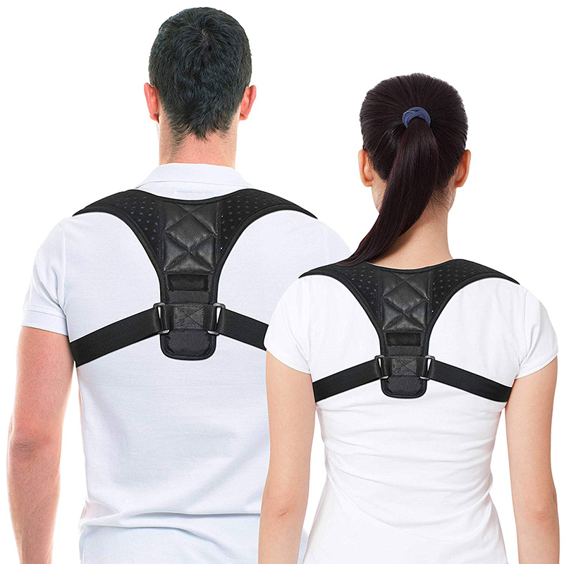 Postpartum Belt Adjustable Posture Brace After Pregnancy Posture Corset Back Corrector For Women Powerful Magic Velcro Bandage