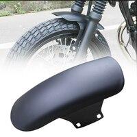 Universal Motorcycle Retro Mudguard Ultra short Front Fender Black Cafe Racer For GN125 MASH125