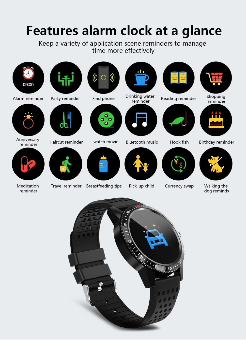 DIGOOR Smart Watch women IP67 waterproof Support Blood pressure  Women Cycle monitoring GPS tracker Heart rate Fitness bracelet Smartwatch (15)