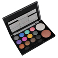 14 colors Natural Long Lasting Beauty Cosmetic Diamond Style Eyeshadow Palette New Style