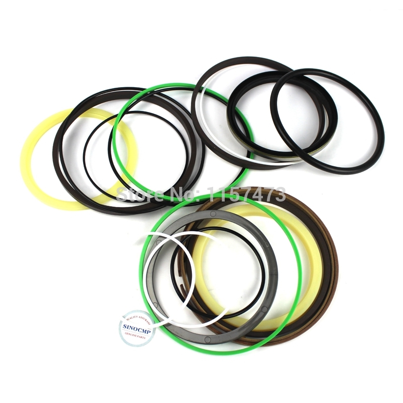 fits Komatsu PC130-7 Bucket Cylinder Repair Seal Kit Excavator Service Gasket 3 month warranty fits komatsu pc220 1 bucket cylinder repair seal kit excavator service gasket 3 month warranty