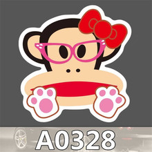 A0328 Spoof Anime Punk Cool Sticker for Car Laptop Luggage Fridge Skateboard Graffiti Notebook Scrapbook Bicycle Stickers Toy