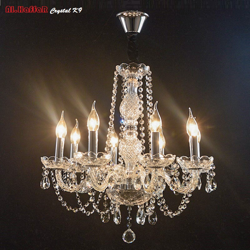 Chandelier Lighting crystal Luxury modern chandeliers Crystal Bedroom Light Crystal Chandelier Lamp Hanging room light Lighting crystal home lighting indoor lamp room chandeliers modern crystal light chandelier luxury cognac color top k9 crystal 6 8 arm