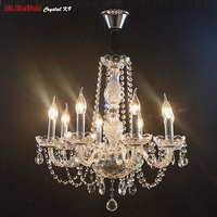 Mary Theresa Crystal Chandelier 8Lamp With K9 Crstal