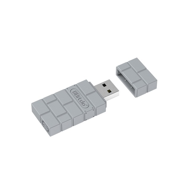 8BitDo USB Wireless Bluetooth Adapter for PlayStation Classic Console PS1 Mini support PS4 controller
