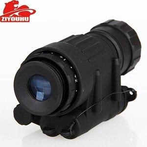 Image 2 - Chiến Thuật Hồng Ngoại Quan Sát Ban Đêm Thiết Bị Tích Hợp Hồng Ngoại Chiếu Sáng Săn Bắn Riflescope Một Mắt Cho Chụp Hình, PVS 14 Ngày Đêm