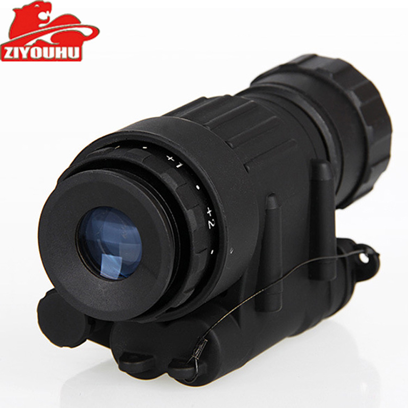 Image 2 - Tactical Infrared Night Vision Device Built in IR Illumination Hunting Riflescope Monocular for Shooting,PVS 14 Day Night Viewer-in Night Visions from Sports & Entertainment