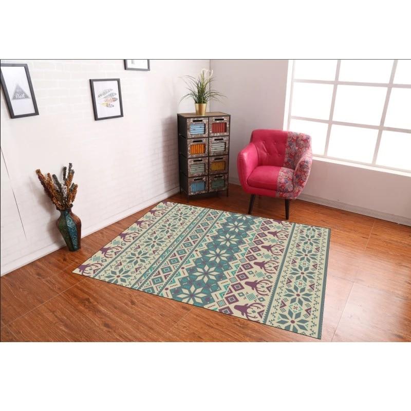 tapis imprime de style ethnique turc nouveau tapis de salon moderne epais pour maison haute qualite pour salon