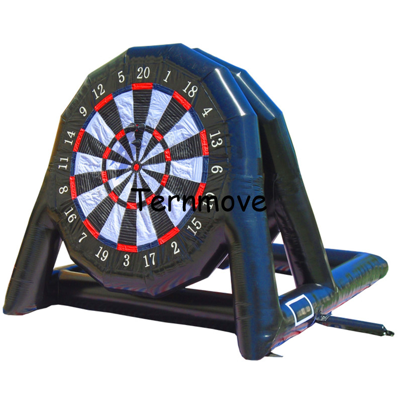 Double sided soccer darts game inflatable foot darts for sale,0.9 MM PVC Tarpaulin inflatable soccer dart board with pumpDouble sided soccer darts game inflatable foot darts for sale,0.9 MM PVC Tarpaulin inflatable soccer dart board with pump