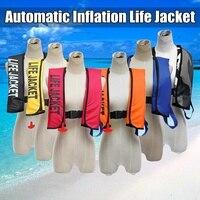 Adult Automatic Inflation Life Jacket Manual Inflatable 150N PFD Survival Vest Swimming lifevests automatic colete salva vidas
